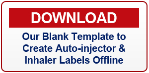 Click here to download auto-injector & inhaler photo label template